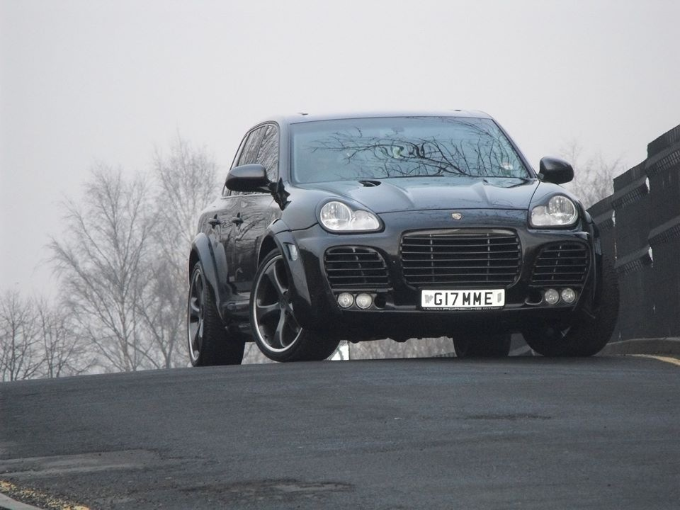 Porsche Cayenne 955 Techart Magnum Conversion