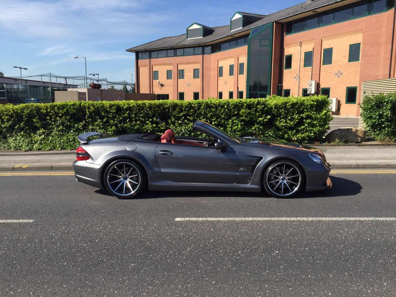 Mercedes SL65 AMG  Black Series Conversion