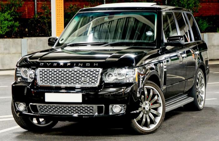 Range Rover 2012 L322 Exterior Design pack Overfinch Kahn