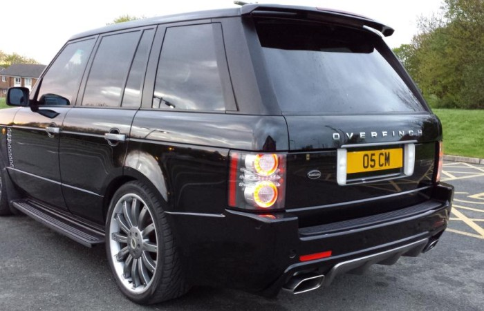 Gallery dynamic customs for Range rover exterior design package