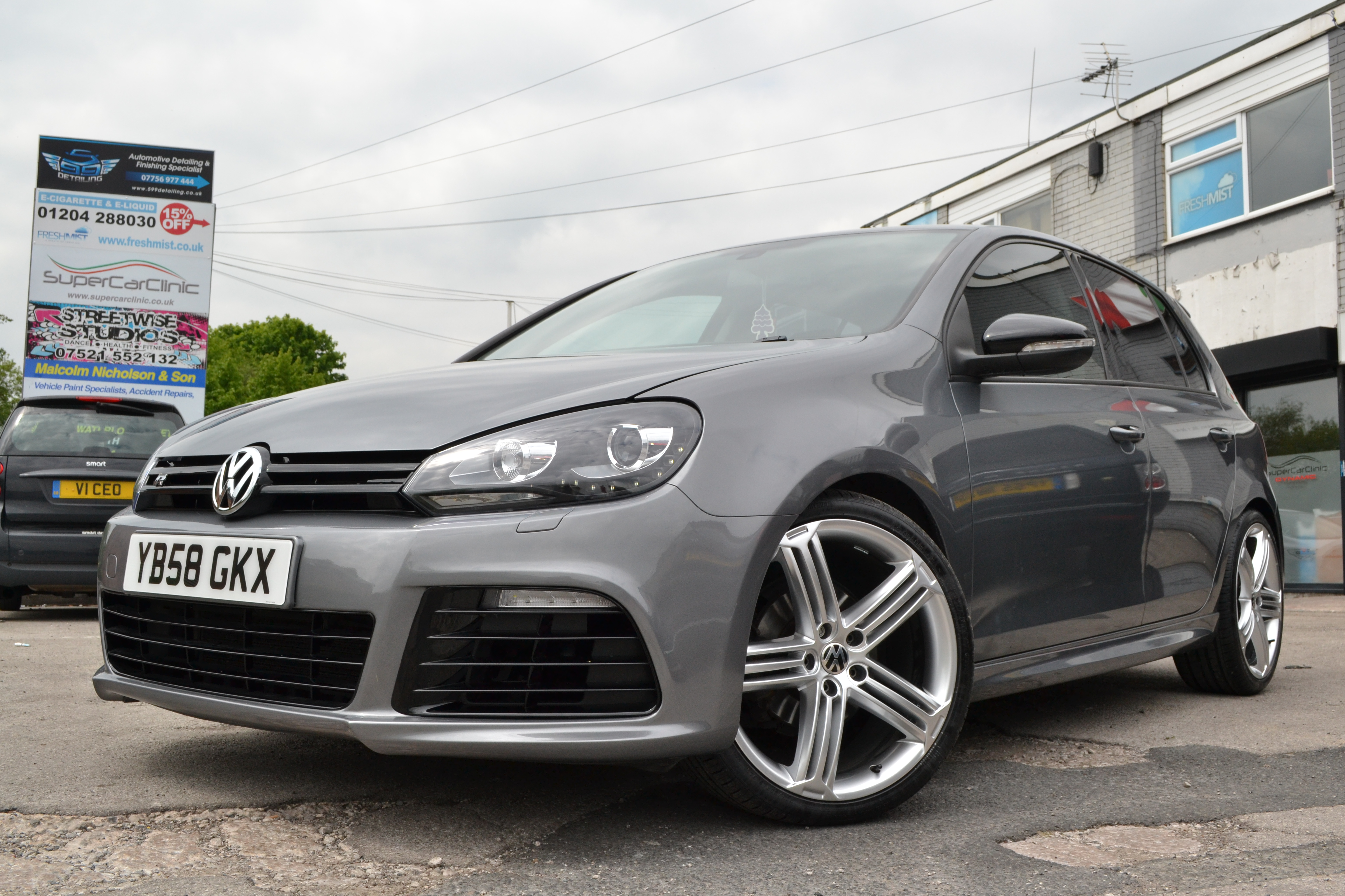 VW Golf R Line R20 Conversion Body styling