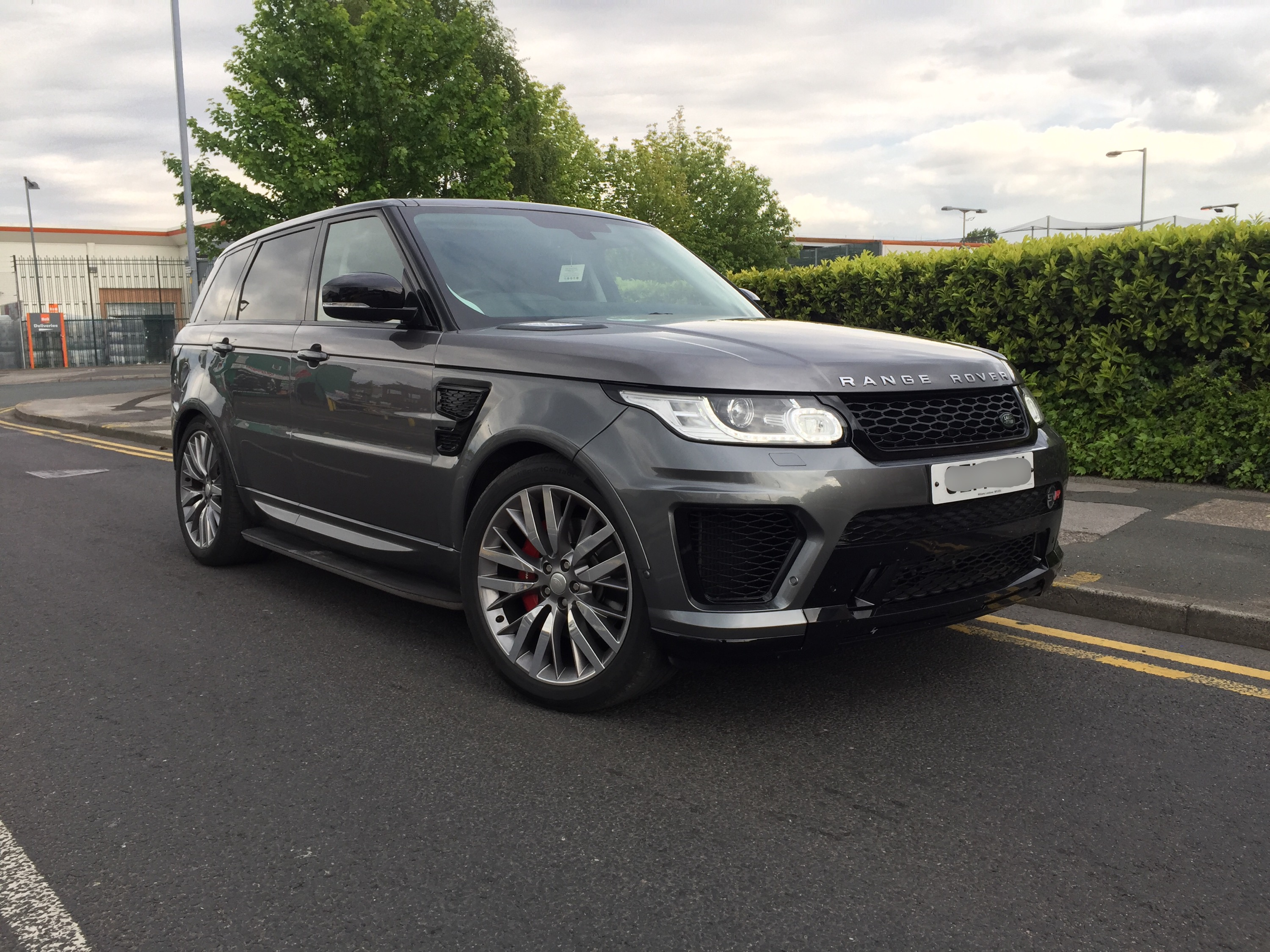 Range Rover Sport 2013 2017 L494 Svr Body Kit Styling