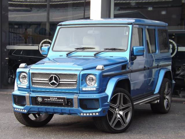 Mercedes G wagon G63 AMG conversion styling