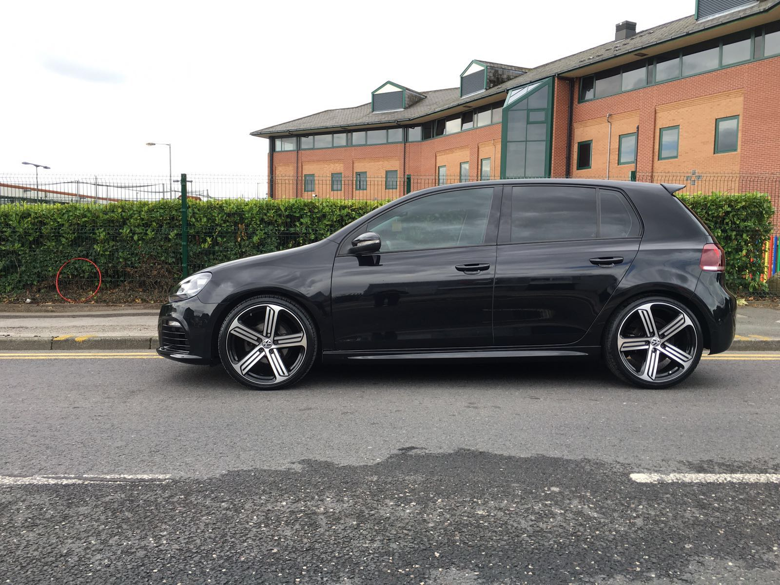 Vw Golf R20 conversion body styling