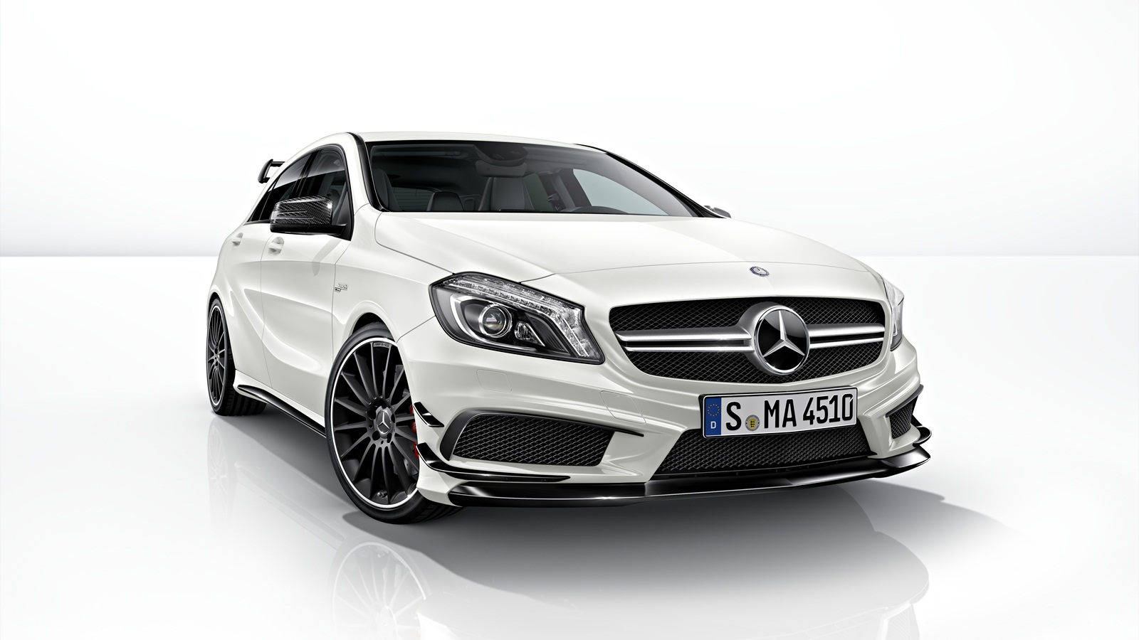 MERCEDES BENZ A45 AMG A CLASS CONVERSION BODY STYLING UPGRADE BODY KIT 2012+ W176 | Dynamic Customs