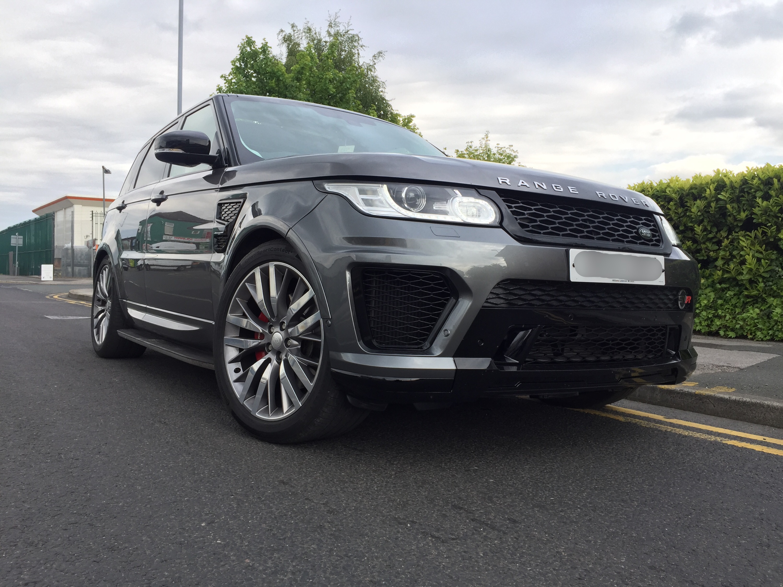 Range Rover Sport 2013 2017 L494 Svr Body Kit Styling