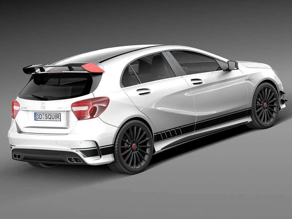 MERCEDES BENZ A45 AMG A CLASS CONVERSION BODY STYLING