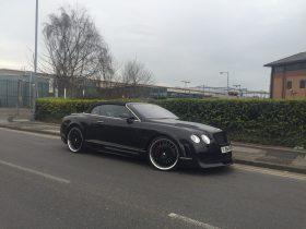 Bentley GT convertible Xclusive wide body kit
