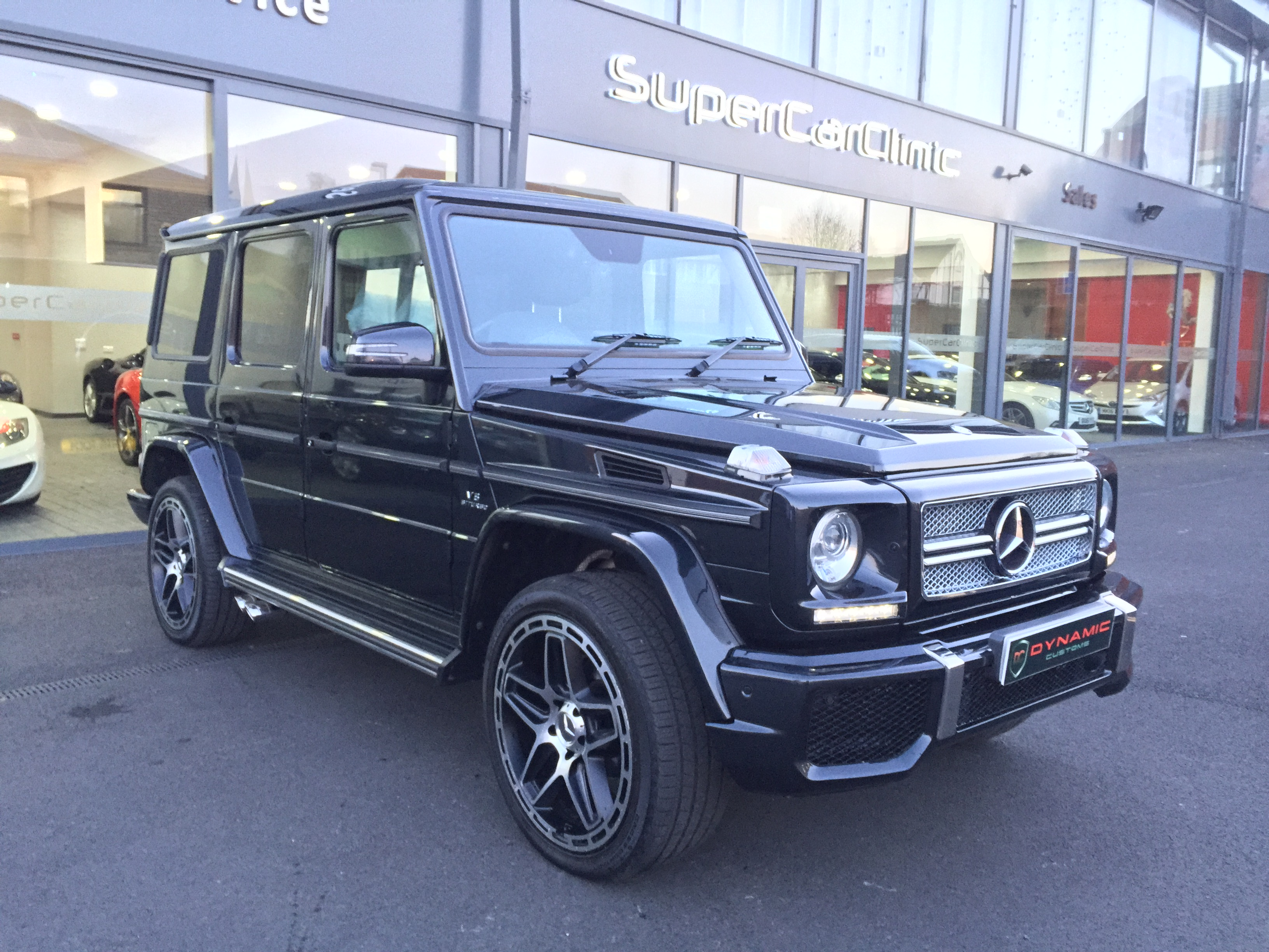 Mercedes G wagon G63 Facelift conversion 2015 upgrade