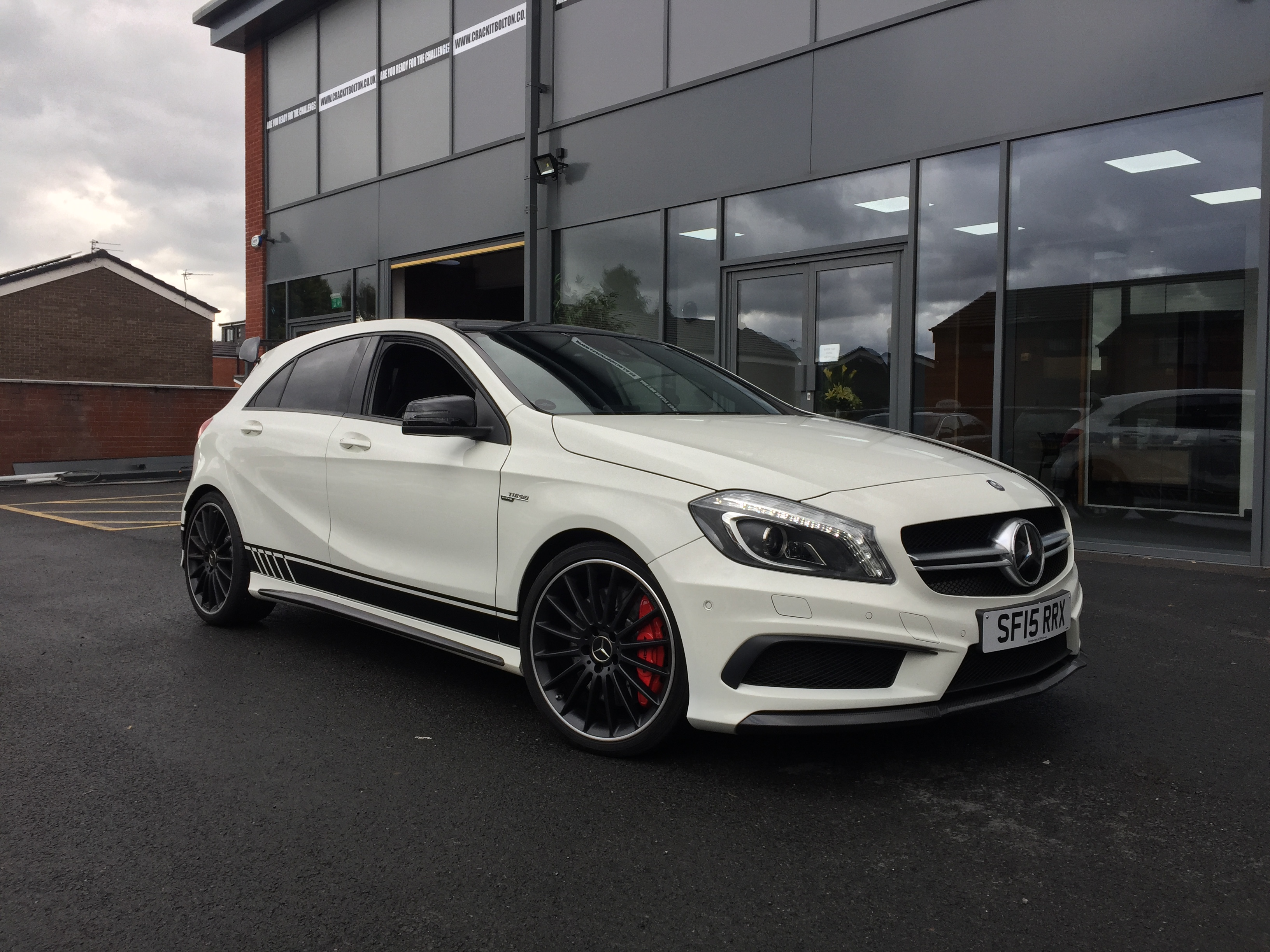 Mercedes A45 AMG Aero pack conversion upgrade