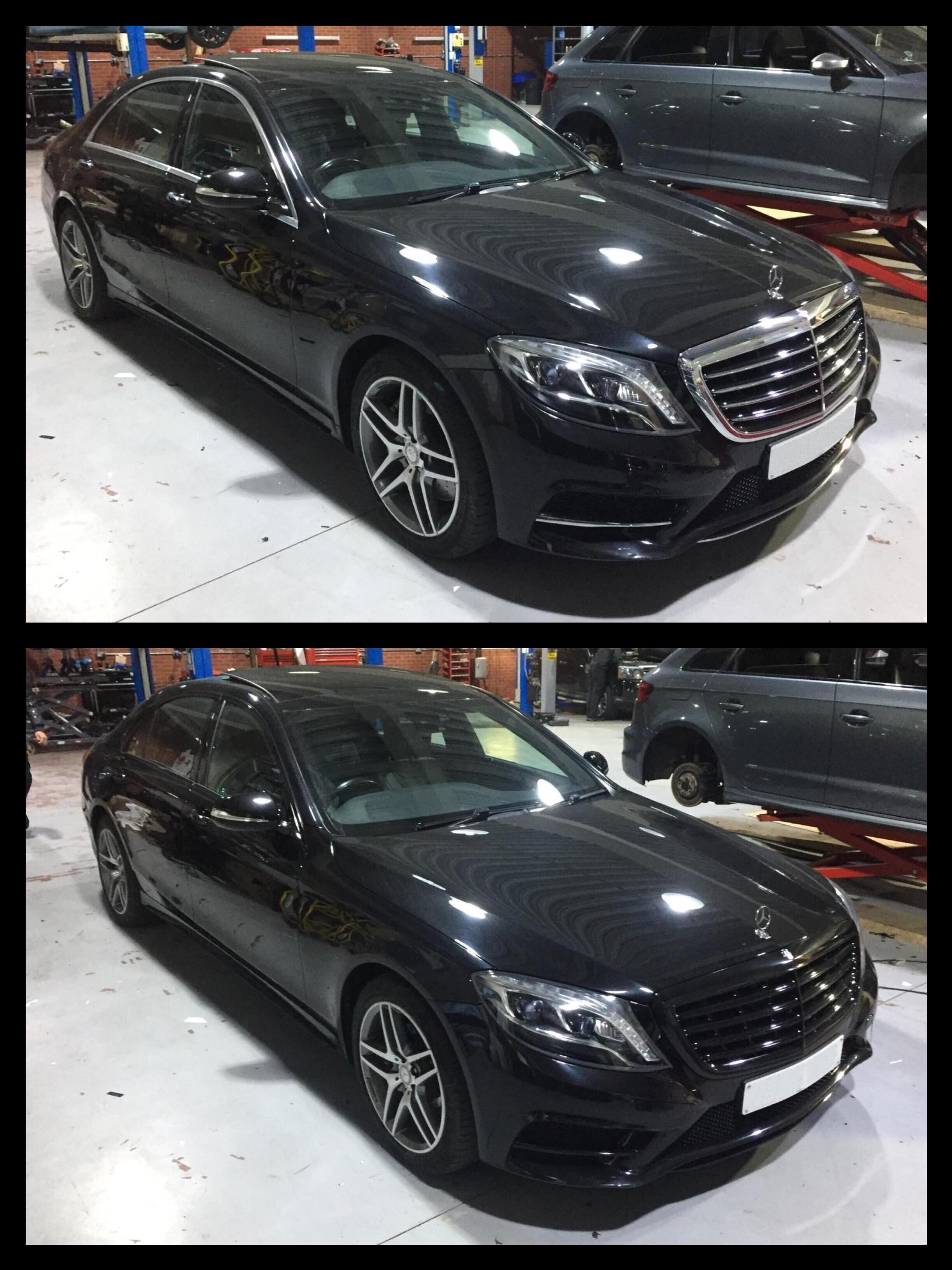 Mercedes S class W222 De-chrome Black pack