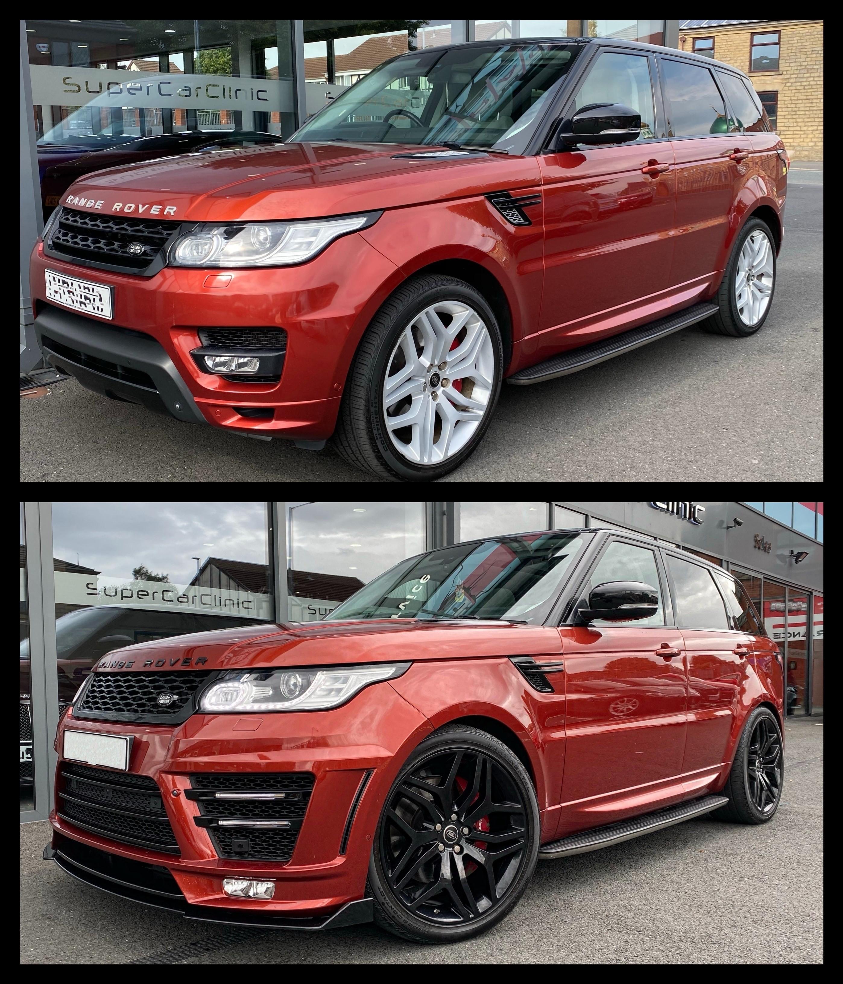 Range Rover Sport L494 Dynamic body kit upgrade styling