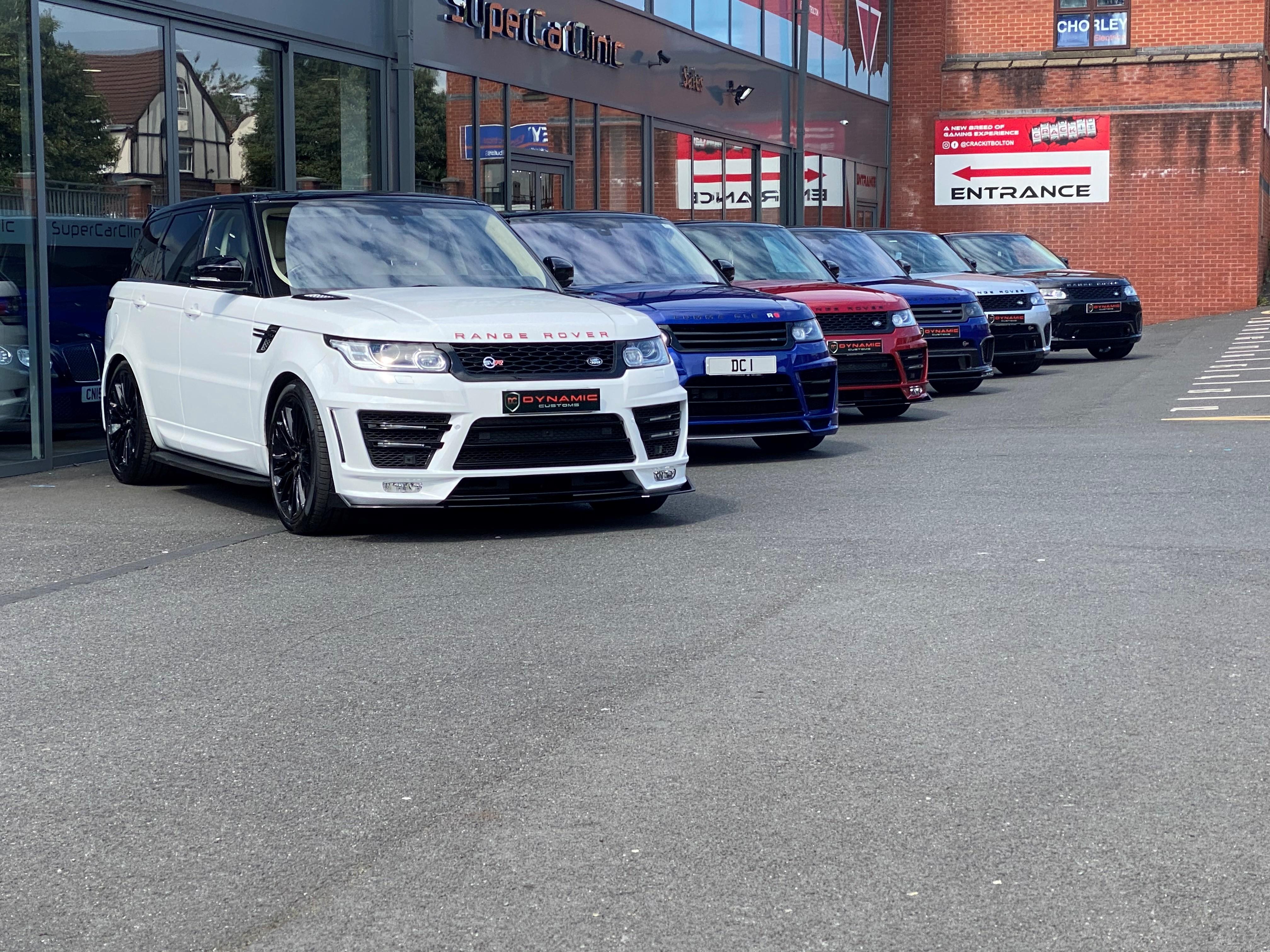 Range Rover Sport Dynamic, Lumma, Mansory, SVR Styling